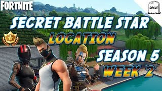 (PS4) Fortnite: Secret Battle Star Emplacement Saison 5 Semaine 2
