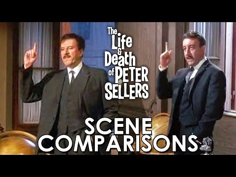 The Life and Death of Peter Sellers 2004   comparisons