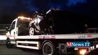 Incidente stradale sulla SS 682, 4 i morti un ferito. Il video