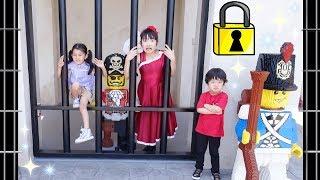 ★「海賊と一緒に牢獄に~!」レゴランド~後編~★LEGOLAND® Japan 2★ thumbnail