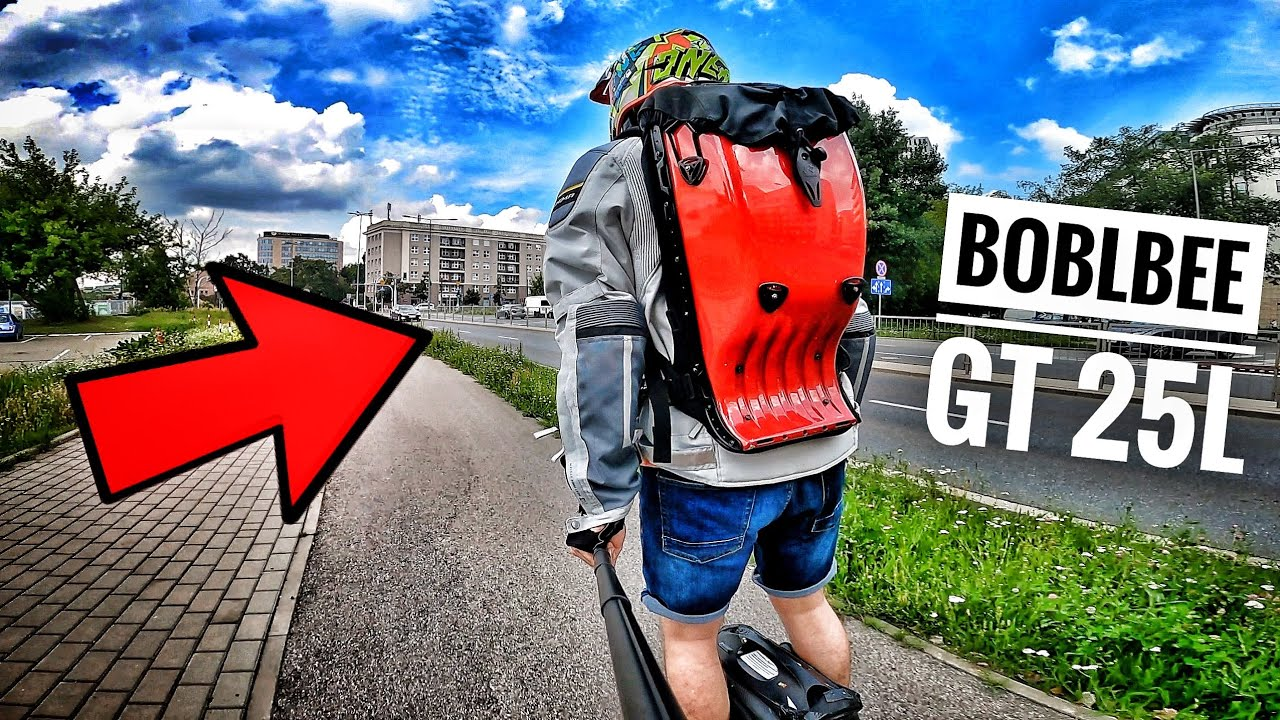 My FAVOURITE -PEV- BACKPACK !!! BOBLBEE GT-Series 25L First Impressions  (...yes the AlienRides one)