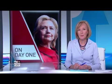 What President Hillary Clinton would do on Day 1