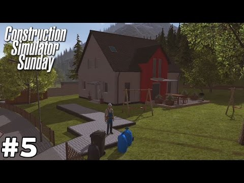 Single-Family House with Attic - Construction Simulator Sunday [ep5]