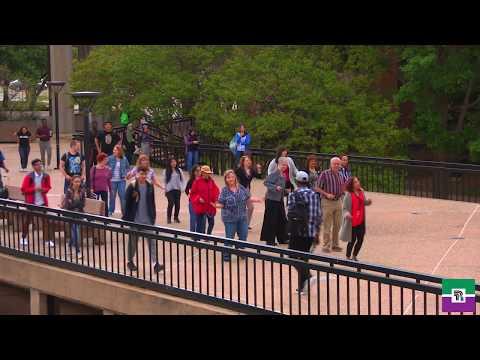 Richland College: Flash Mob 2018