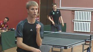 Сергей ФИЛЬЧЕВ vs Андрей БУКИН, 1/2 ФИНАЛА, Master Open, Настольный теннис, Table Tennis