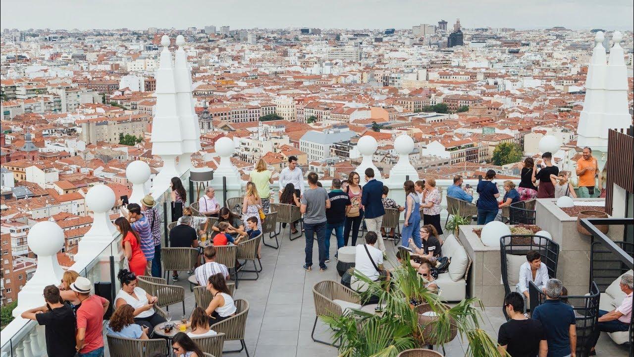 La Azotea 360º Del Hotel Riu Plaza España