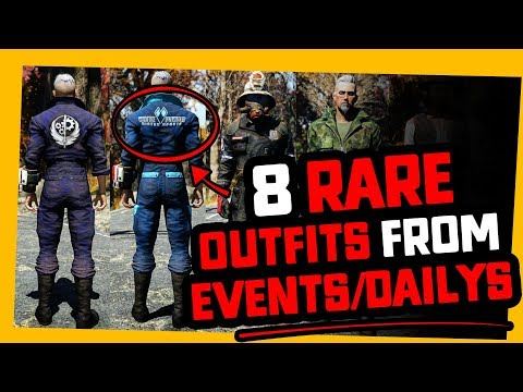 Fallout 76 | 8 RARE OUTFITS you may want TO GRIND FOR! thumbnail