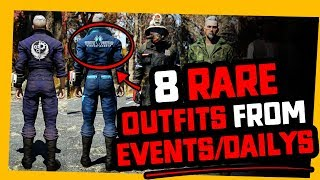 Fallout 76 | 8 RARE OUTFITS you may want TO GRIND FOR!