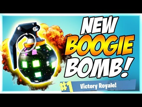 Fortnite Battle Royale: Epic Boogie Bomb Party