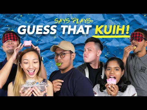 Do Malaysians Know Their Kuih? (Part 2) | SAYS PLAYS