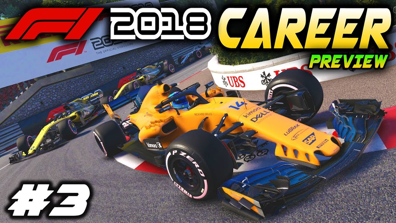 f1 2018 ps4 career mode preview part 3 car upgrade. Black Bedroom Furniture Sets. Home Design Ideas