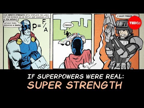 Video image: If superpowers were real: Super strength - Joy Lin