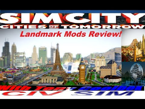 Simcity Landmarks Anywhere Mod Review