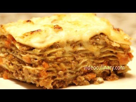 How to make fresh lasagne sauce