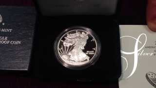 2014 Proof Silver Eagle With Unfriendly Commentary