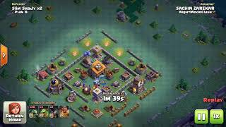 NIGHT WITCH ATTACK WITH BABY DRAGS AND BETA MINIONS - CLASH OF CLANS