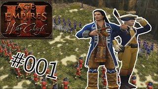 Let's Play Age of Empires III: The War Chiefs #001: Nathaniel Black und die amerikanische Revolution