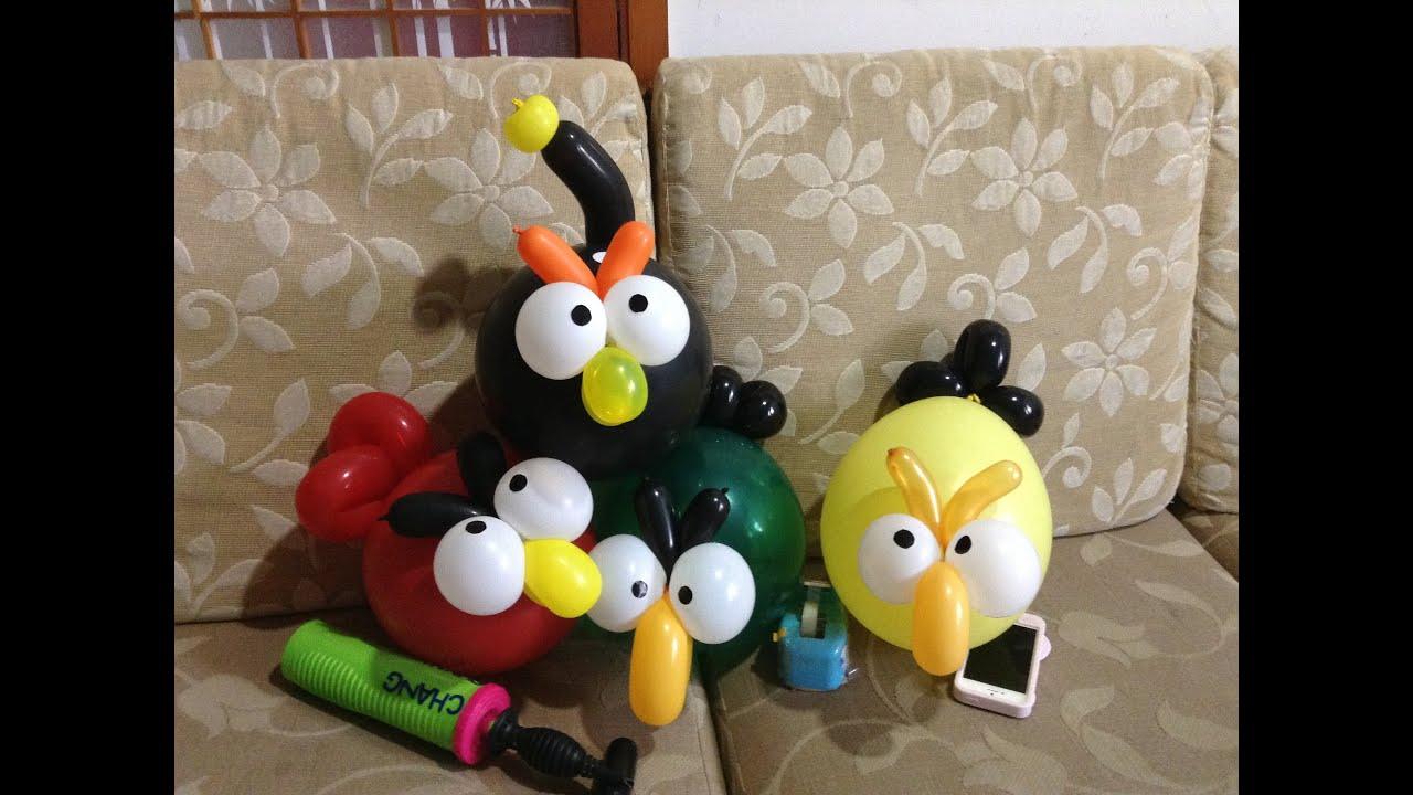 balloon twist balloon birds youtube. Black Bedroom Furniture Sets. Home Design Ideas