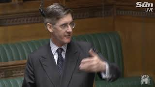 Jacob Rees-Mogg opposes Brexit deal night before vote