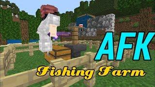 AFK FISH FARM TUTORIAL (MCPE) 100% WORKING v1 10/1 11