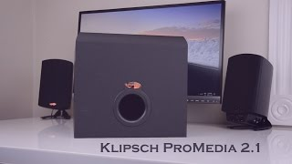 Klipsch ProMedia 2.1 Desktop Speakers Review