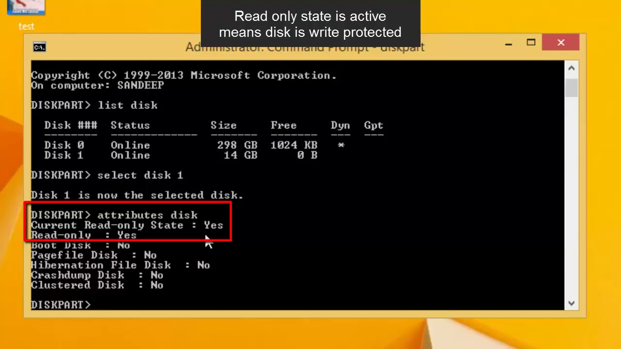 how to remove write protected flash drive