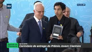 Aluno cearense que criou app para conservação de açude recebe Prêmio Jovem Cientista