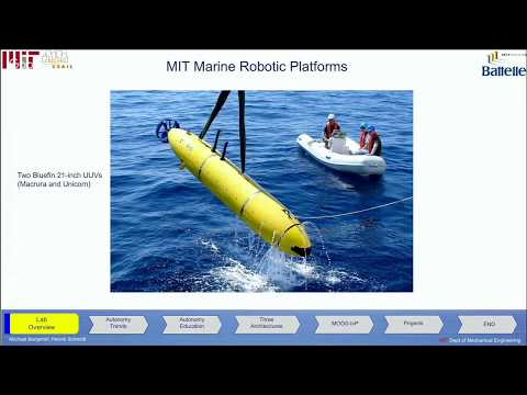 Human-Machine Teaming with Robots at MIT's Marine Autonomy Lab