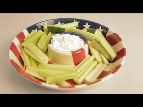 Healthy Yogurt & Cottage Cheese Veggie Dip: Eating Healthy & Gluten-Free