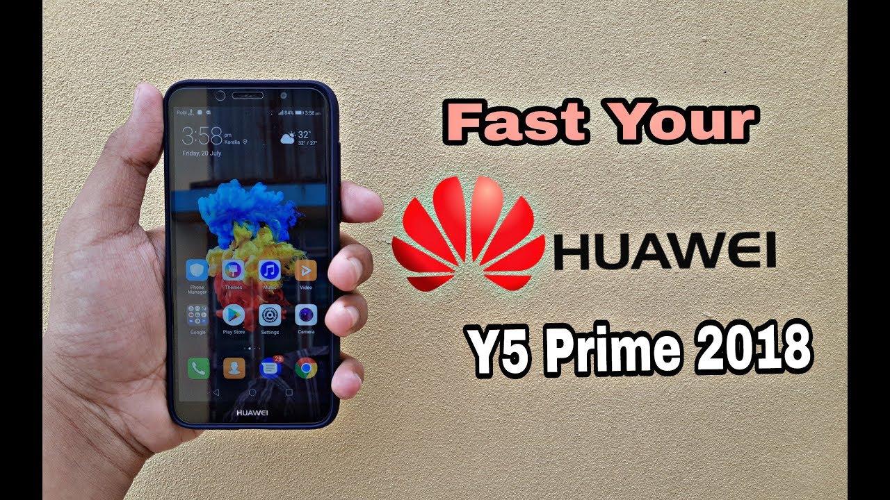 Huawei Y5 Prime 2018 Super fast phone 😮 | Hang Problem