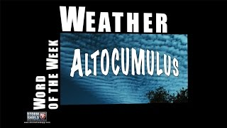 What is an Altocumulus? | Weather Word of the Week
