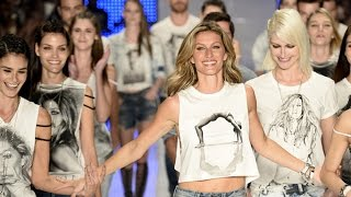 Gisele Bundchen Says Goodbye to the Runway in Final Fashion Show