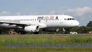 Video Amazing AirAsia Take-Off and Landing at Siem reap International Airport in Cambodia download MP3, 3GP, MP4, WEBM, AVI, FLV Juni 2018