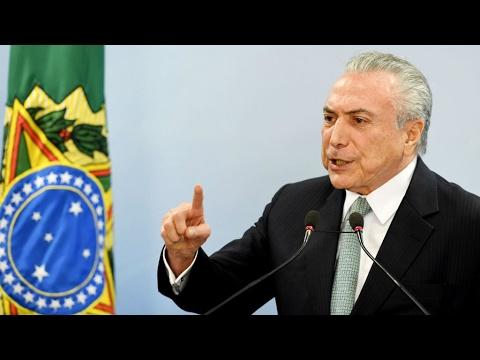 Brésil : Accusé de corruption, le président Michel Temer refuse de démissionner