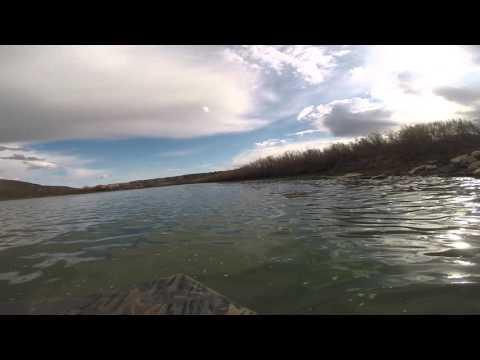 Boating up the South Saskatchewan River