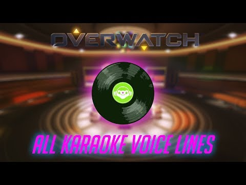 Overwatch - All Karaoke Voice Lines thumbnail