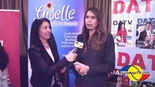 Dra. Giselle Hernandez Nutriologa  en el Seminario SALUD, Mental Nutrcional y Financiero 2018