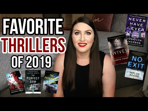 Favorite Mystery/Thriller Books of 2019