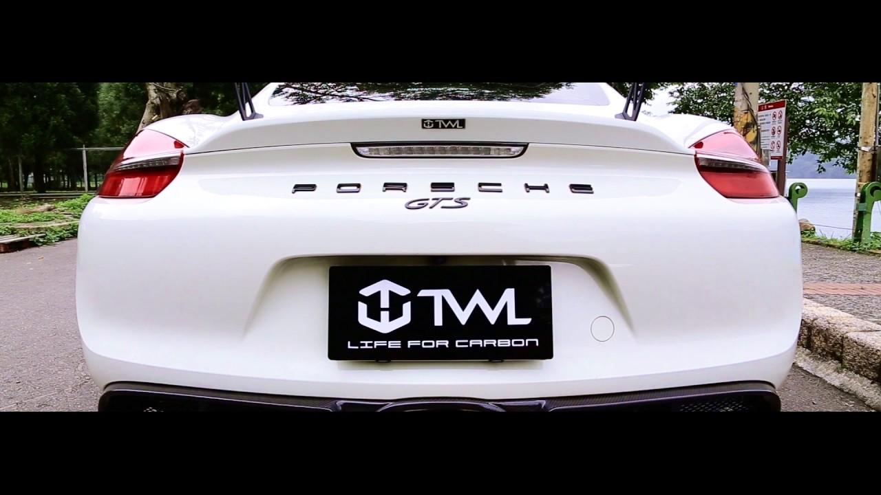 Twlcarbon 981 gts change gt4 look rear spoiler rear diffuser twlcarbon 981 gts change gt4 look rear spoiler rear diffuser carbon fiber body kit publicscrutiny Gallery