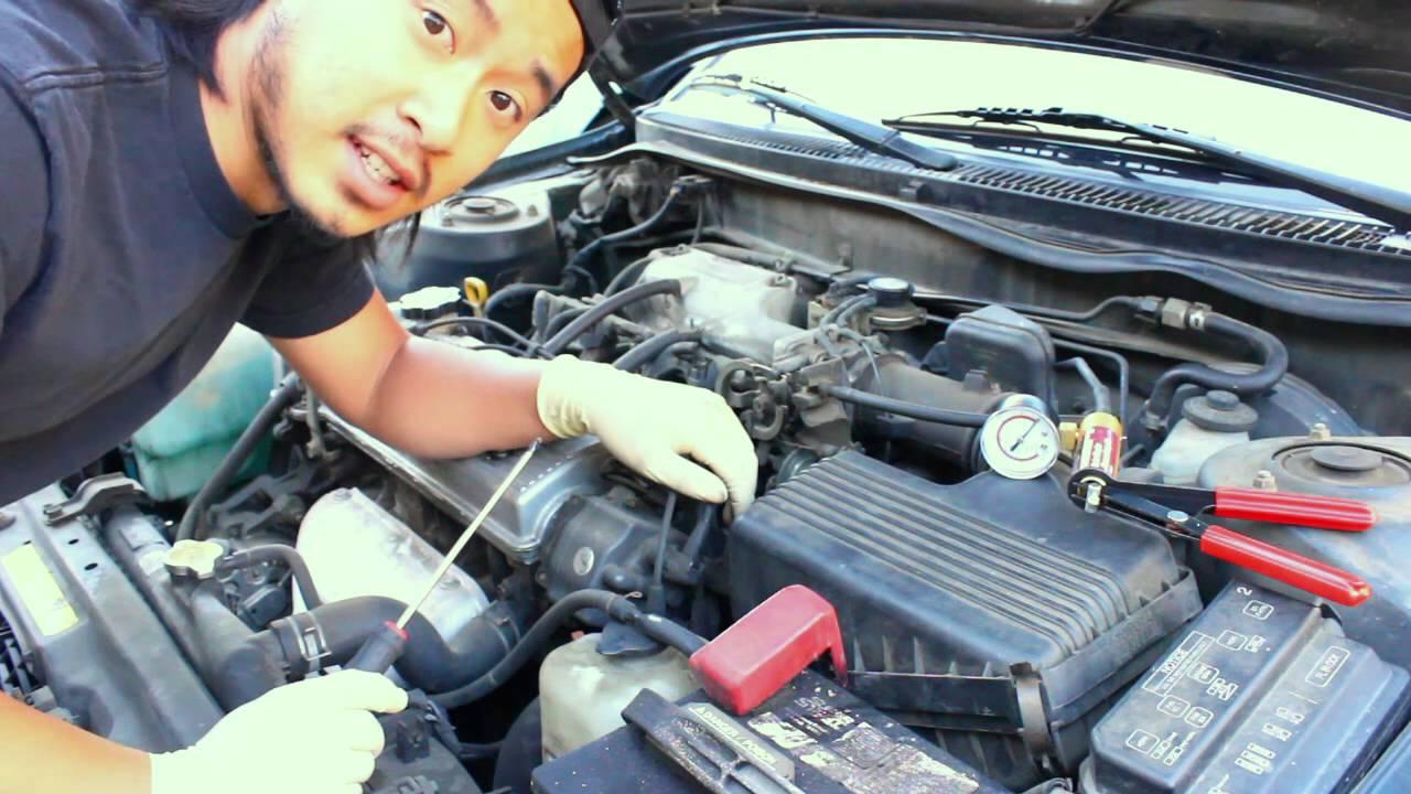 How to test Toyota EGR System(VSV, Vacuum Modulator, EGR valve)  YouTube