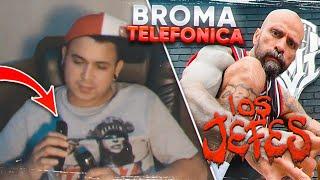 BROMA TELEFÓNICA A BABO DE CARTEL DE SANTA Y A DON AERO #53