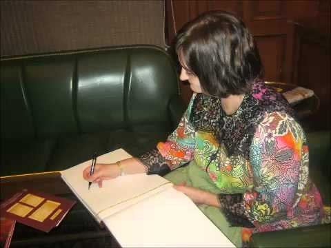Ms.Cherie Blair, wife of former UK Prime Minister on-board Maharajas' Express