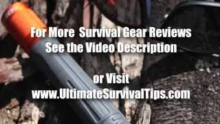 Gerber Bear Grylls Ultimate Survival Torch Review - Best Flashlight - Waterproof LED Flashlight Unde