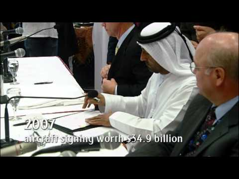 Emirates $34.9 billion deal for new Aircraft | Milestone series - 2007 | Emirates Airline