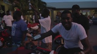 Meek Mill And His Crew Ride Through Miami To Send Trick Daddy A Message