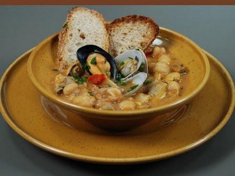 Ricetta zuppa di pesce con crostacei