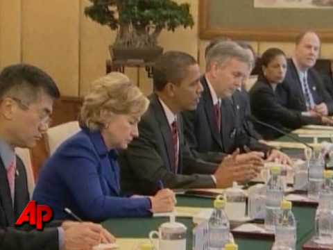 Raw Video: Obama Meets With Chinese Premiere
