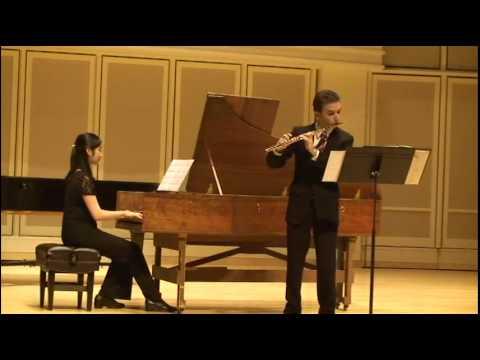 Handel: Flute Sonata in A minor, III and IV