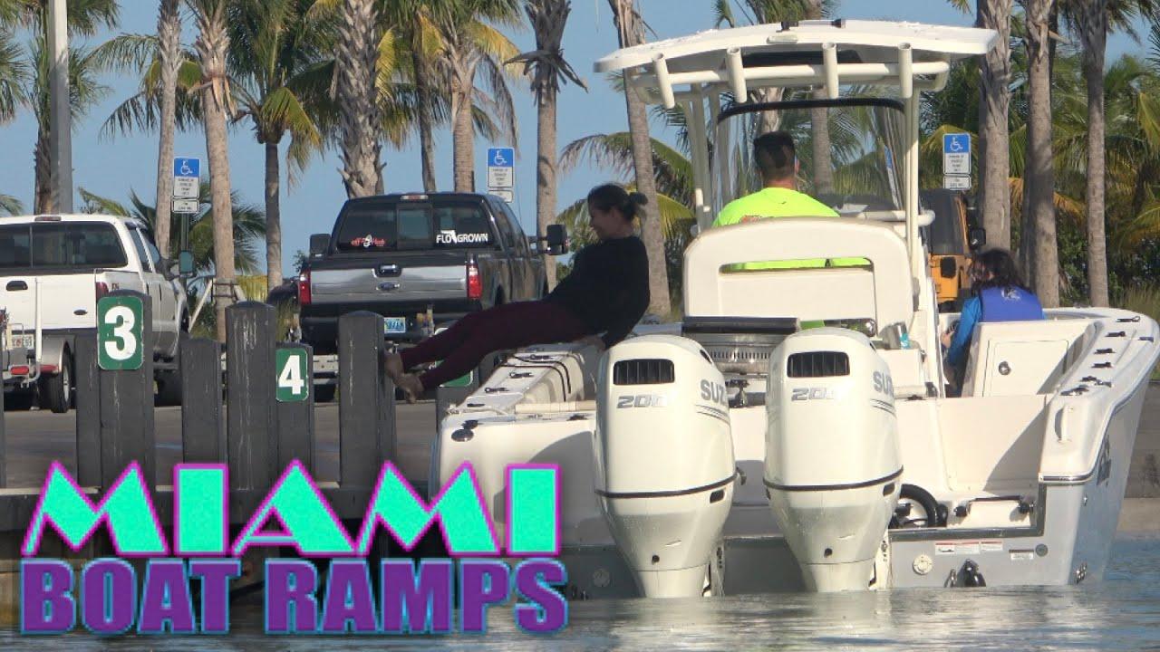 Not a Good Idea!! | Miami Boat Ramps | 79th St