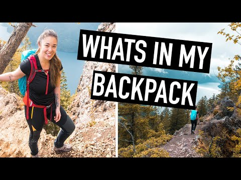 WHATS IN MY HIKING BACKPACK | Day Hike